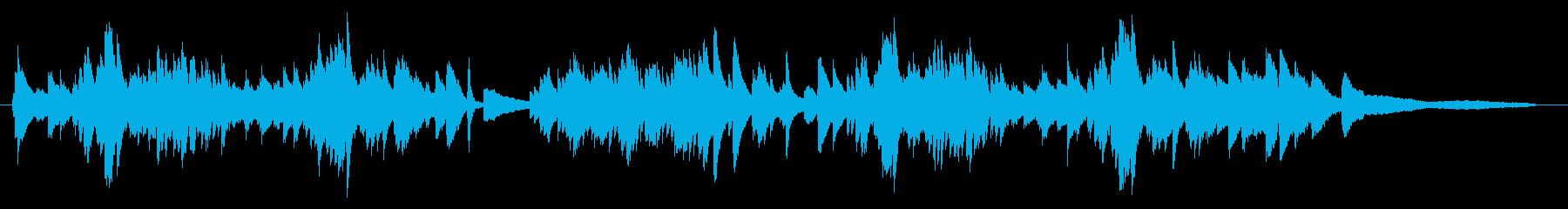 ショパン風 優雅なワルツ ピアノソロの再生済みの波形
