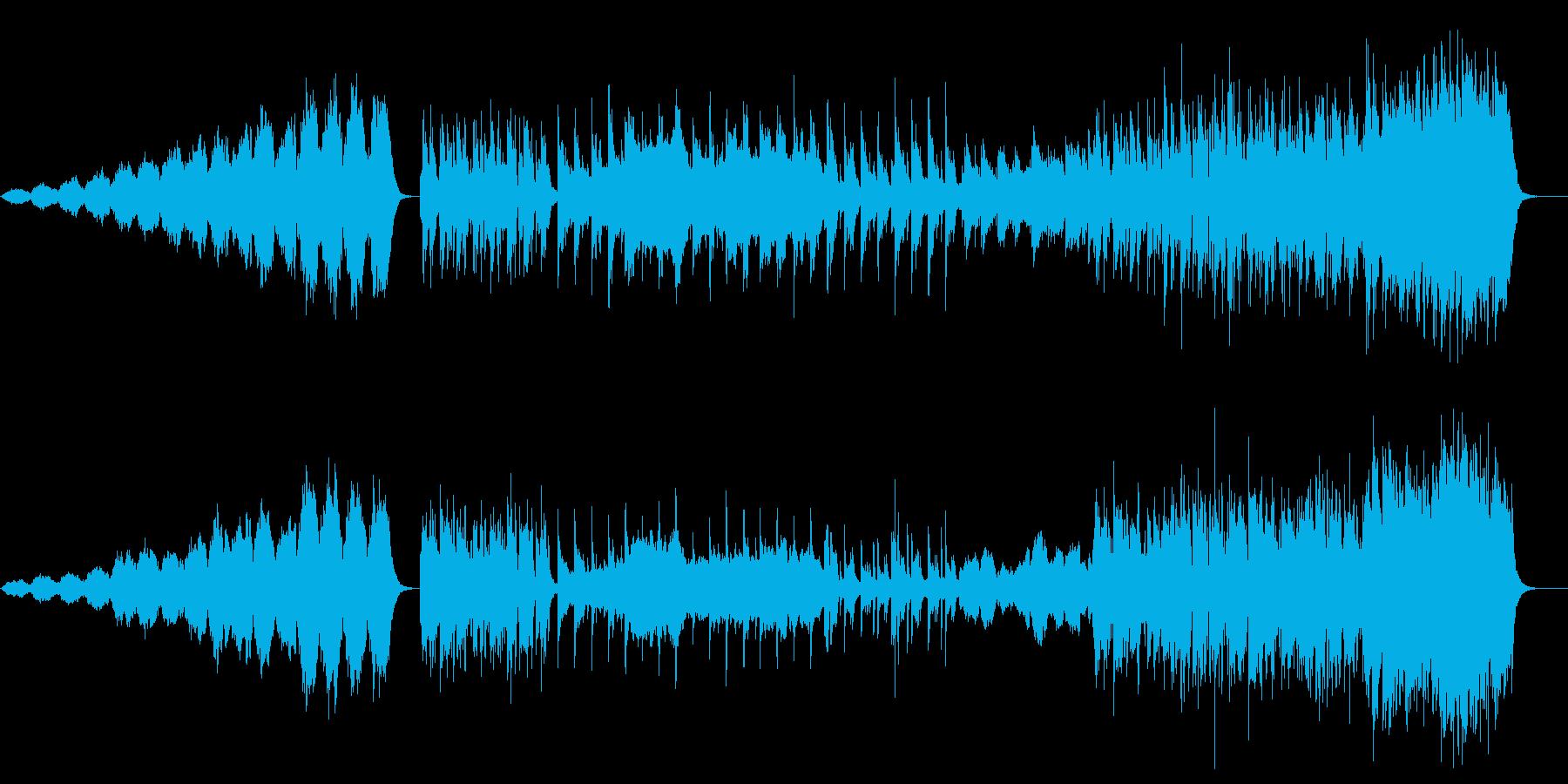 しっとり 感動 もの悲しい切ない BGMの再生済みの波形