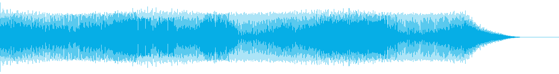 緊張感のあるシーンを描写の再生済みの波形