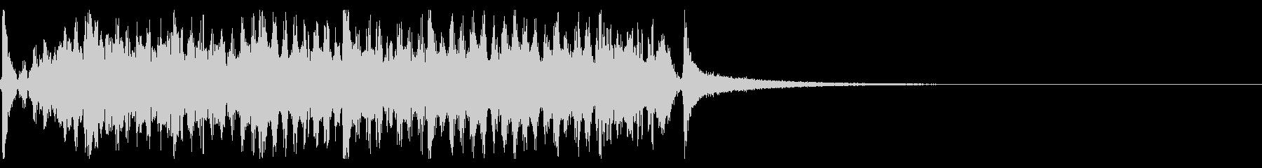 時計の秒針/シンキングタイム効果音!01の未再生の波形