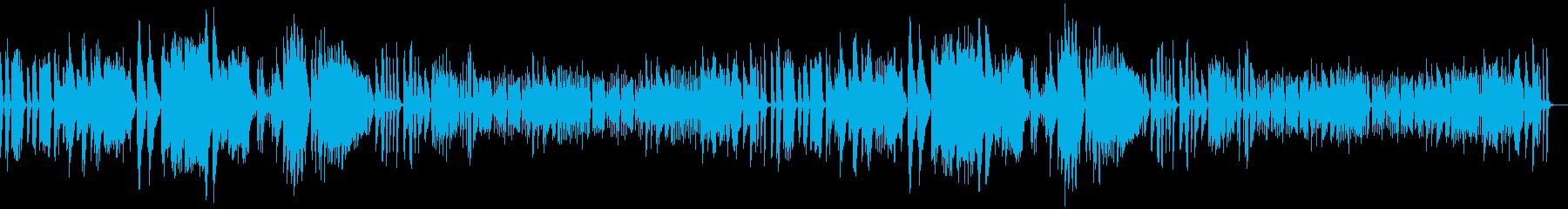 アイネクライネ 軽快で繊細なピアノrepの再生済みの波形