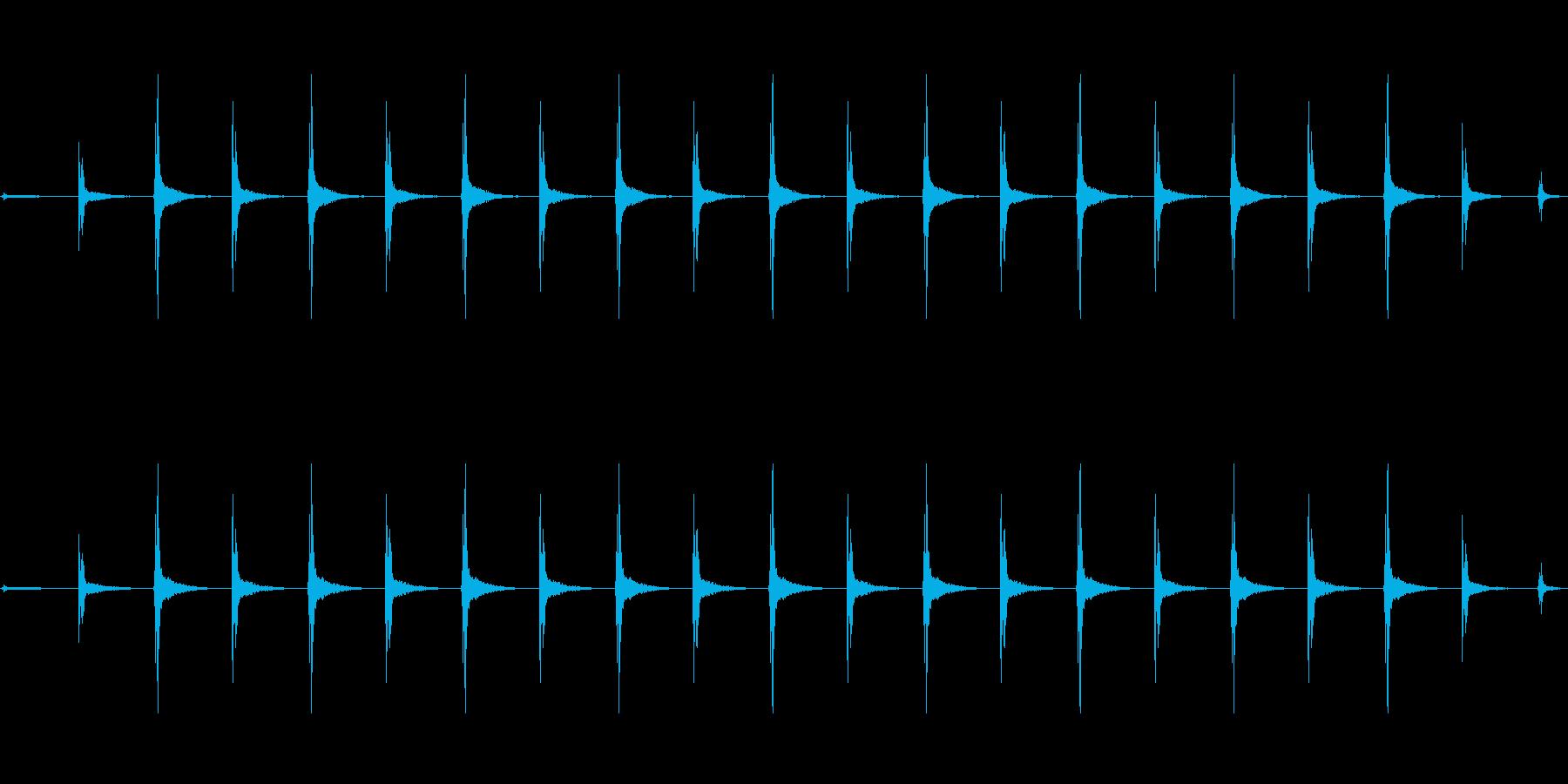 時計 ticktock_45-2_revの再生済みの波形