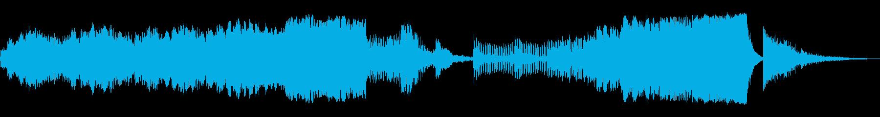 現代風のオーケストラでイメージアップの再生済みの波形