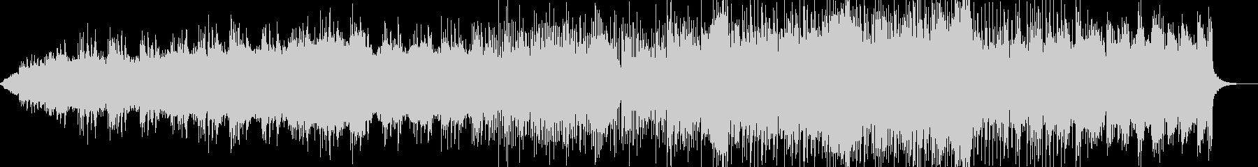 和風なBGM、大阪ビートの未再生の波形