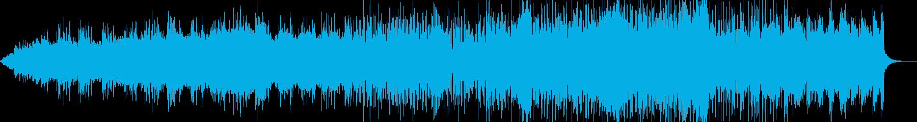和風なBGM、大阪ビートの再生済みの波形