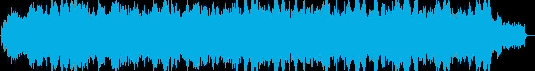 ワルツ薔薇色ときめきループ音源の再生済みの波形