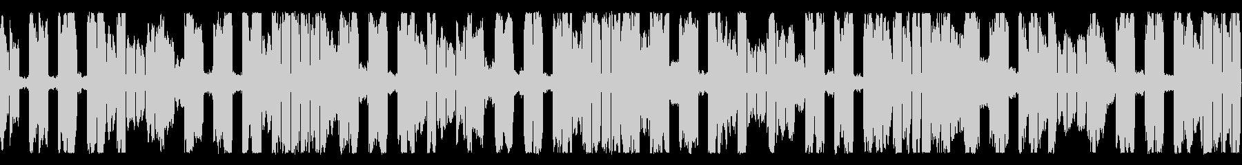 ピコピコサウンドのシンセループ素材の未再生の波形