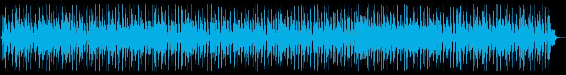 楽しいポップなゲームミュージックの再生済みの波形
