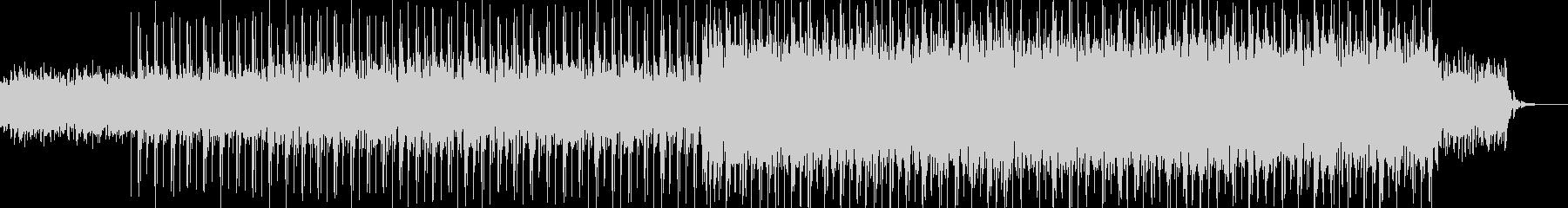 ギターとエレピのバックグラウンドヒップホの未再生の波形