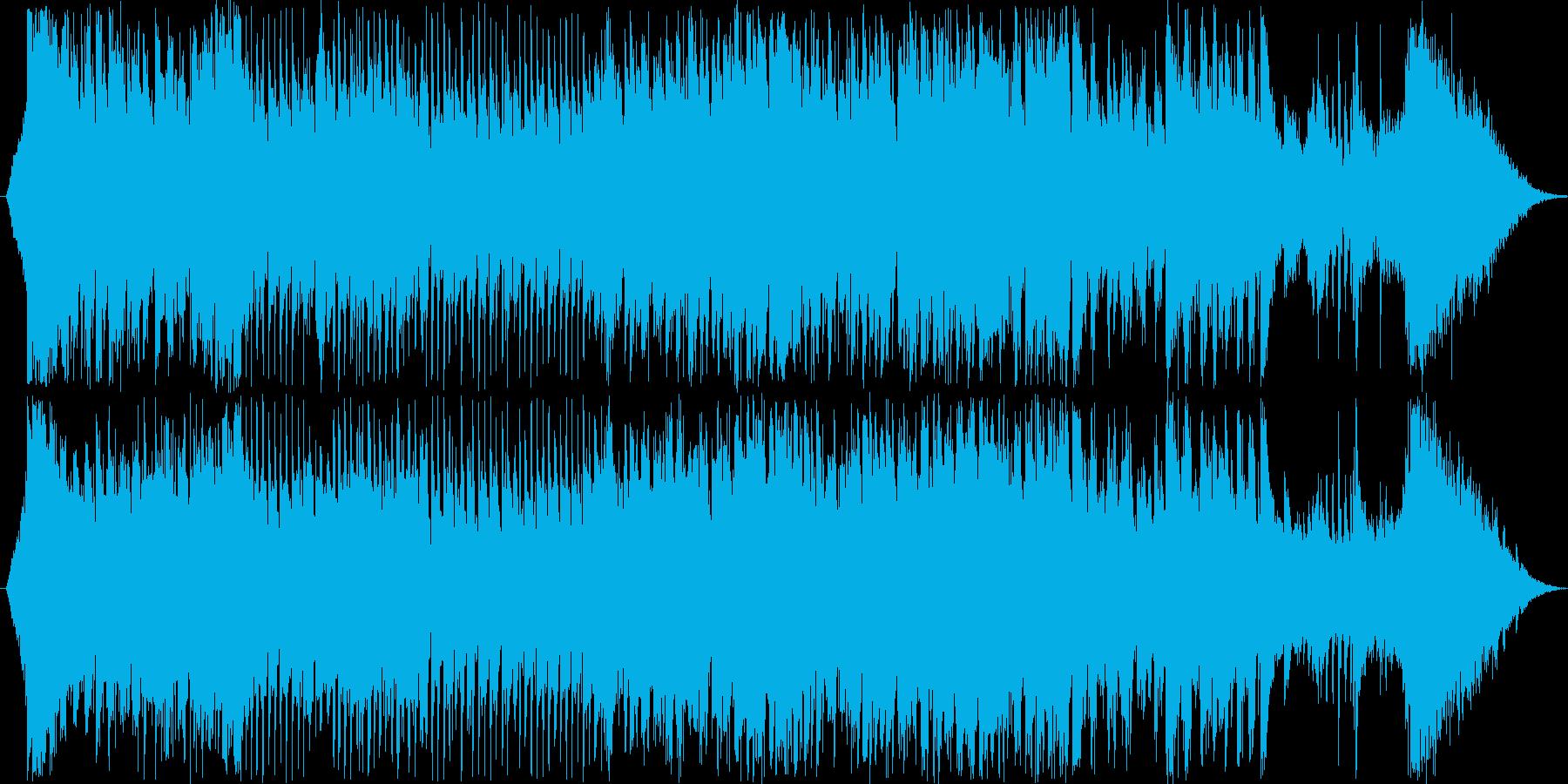 和風とディスコを合わせたような楽曲です…の再生済みの波形