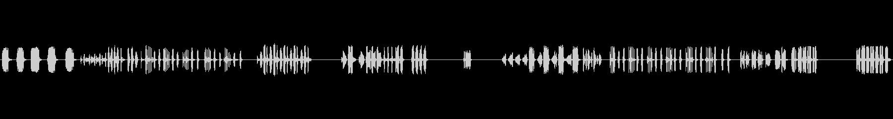 モッキンバードチャーピング、アニマ...の未再生の波形