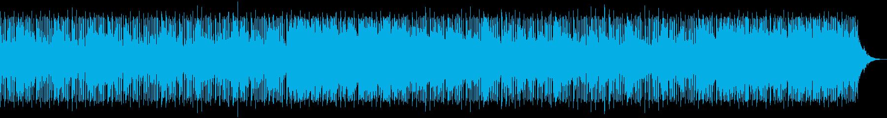 ハロウィン風 コミカルなお化け屋敷の再生済みの波形