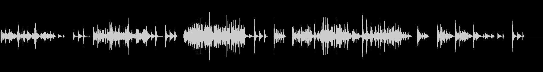 生ピアノソロ・一人の時間(ソフトピアノ)の未再生の波形