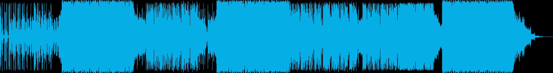 ロック アクション 技術的な ad...の再生済みの波形