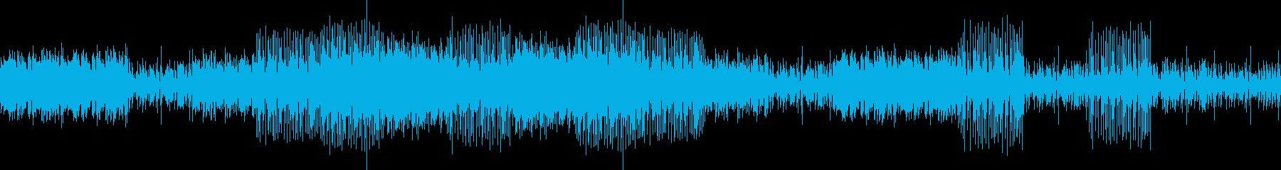 メンタリズムが煌き迸るDTMの再生済みの波形