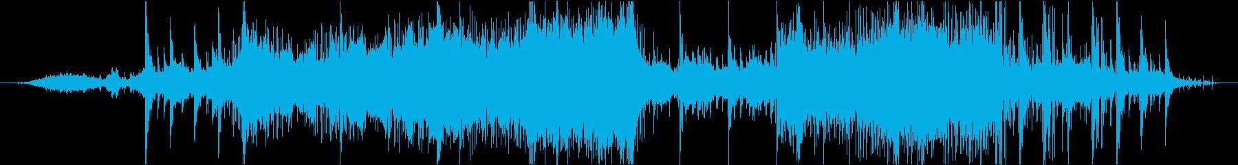 大自然・植物・ネイチャー系のBGMの再生済みの波形