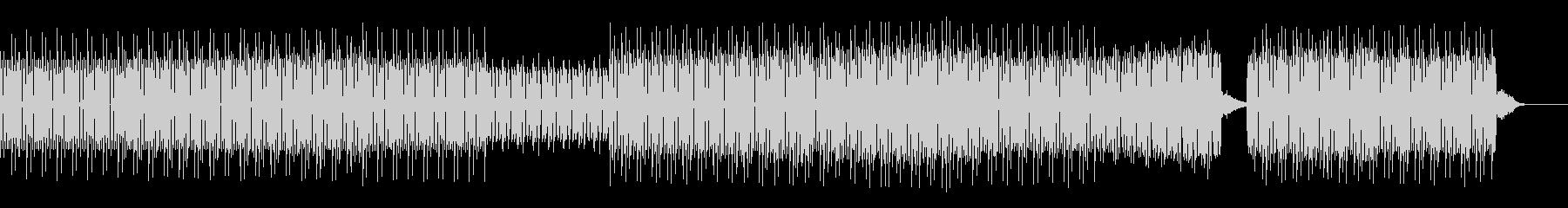 店舗向け:重低音ディープハウスの未再生の波形