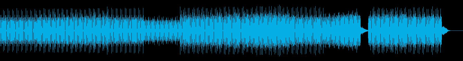 店舗向け:重低音ディープハウスの再生済みの波形