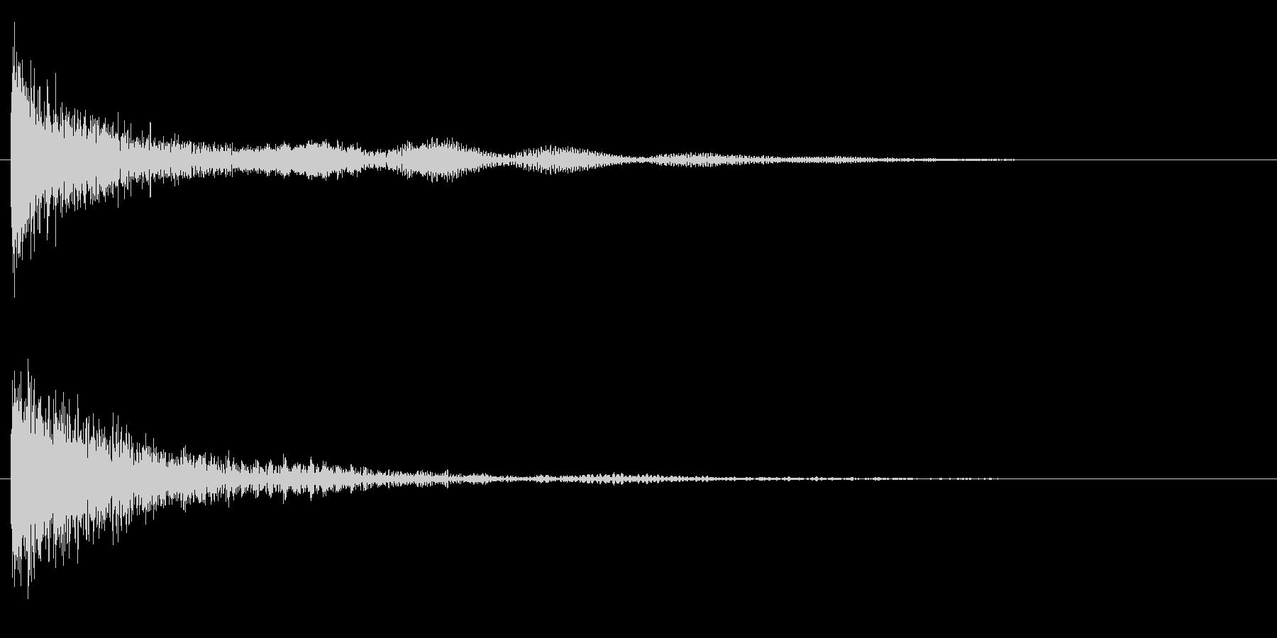 鐘 9の未再生の波形