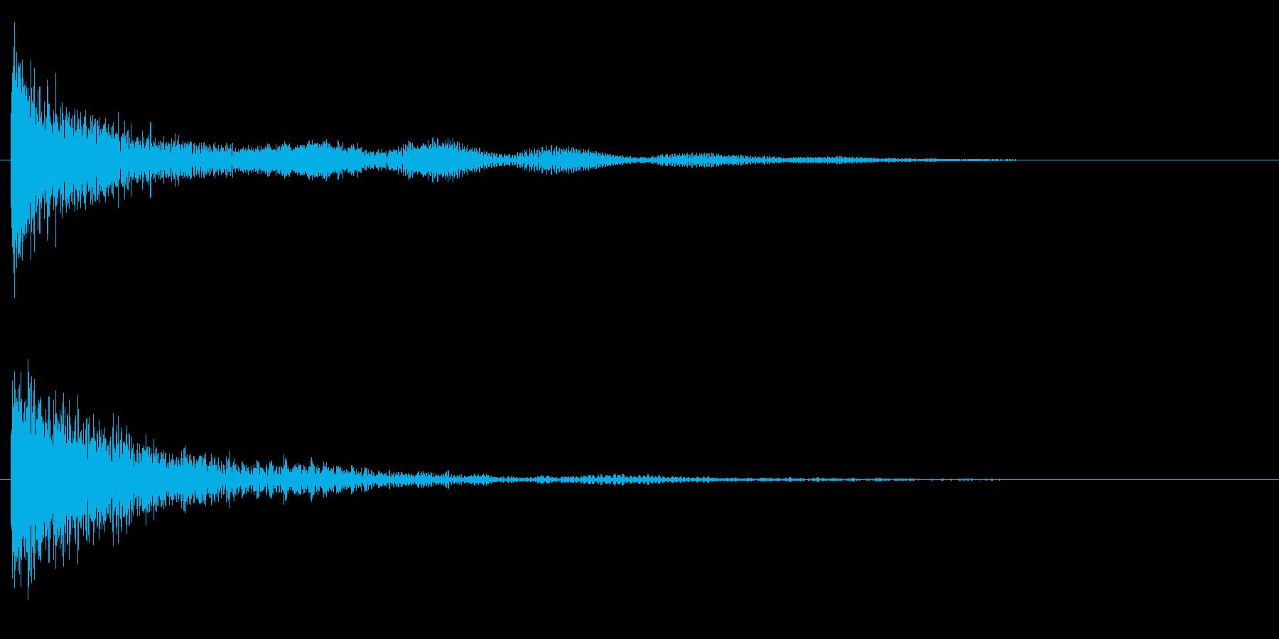 鐘 9の再生済みの波形