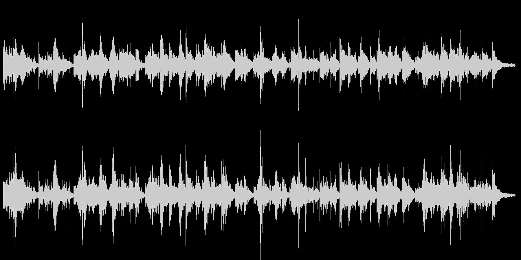 バラード ピアノ インスト(オリジナル)の未再生の波形