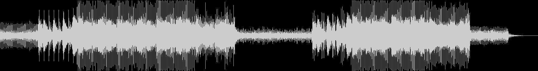 トロピカル EDM サイエンス 実験映画の未再生の波形
