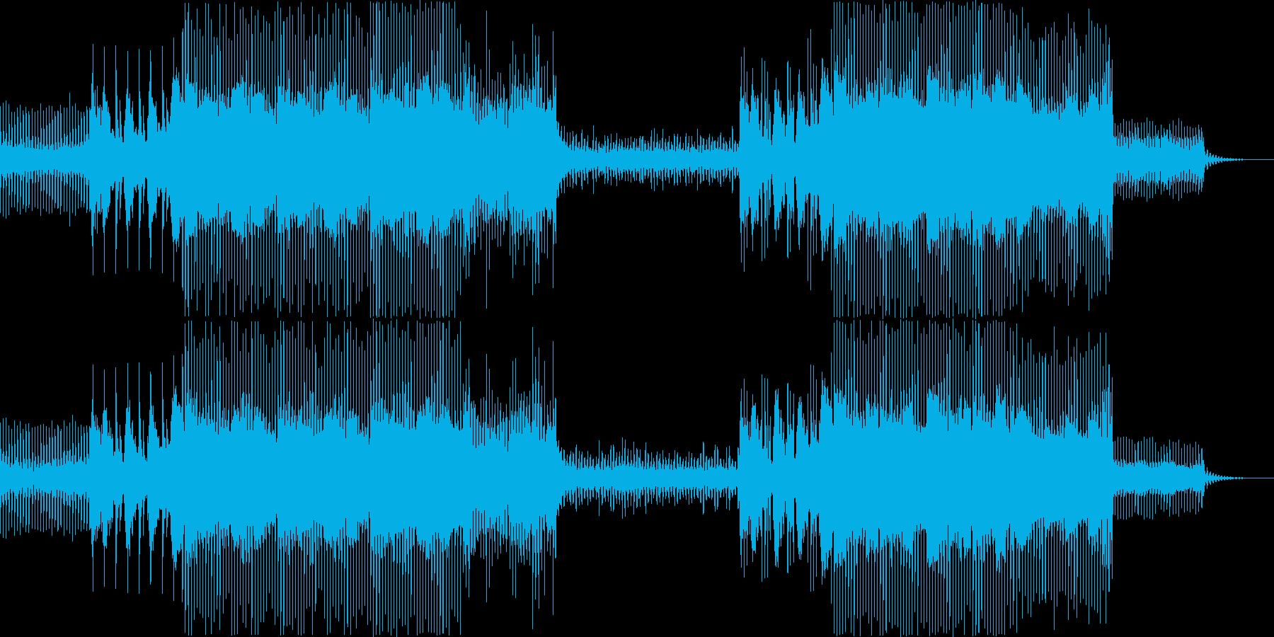 トロピカル EDM サイエンス 実験映画の再生済みの波形