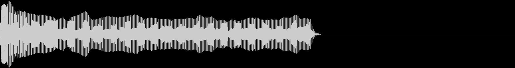お馴染みのインパクト音!レゲエホーンの未再生の波形