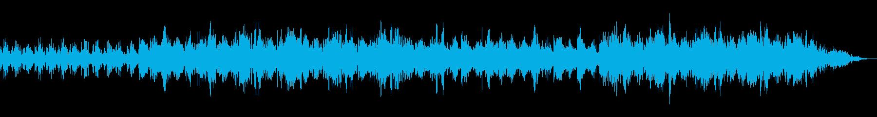 機械化人の悲しみ ミニマル アンビエントの再生済みの波形