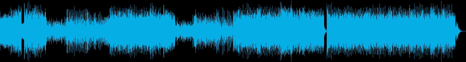 切ない雰囲気が漂うデジタル BGMの再生済みの波形