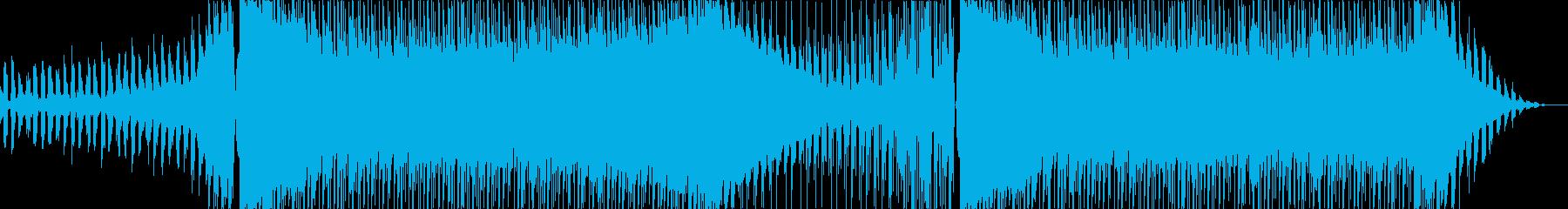 キャッチーで少しダークなEDMメロ無しの再生済みの波形