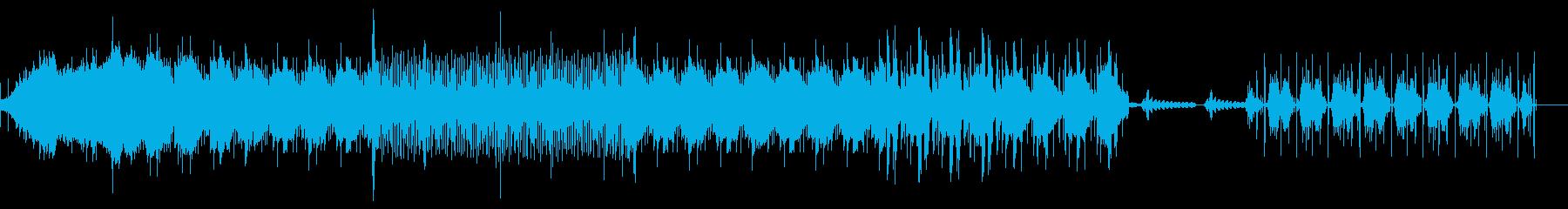 甘くほろ苦いダウンテンポのアーバンハウスの再生済みの波形