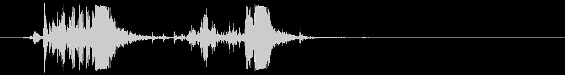 MOSSBERG M500ポンプア...の未再生の波形