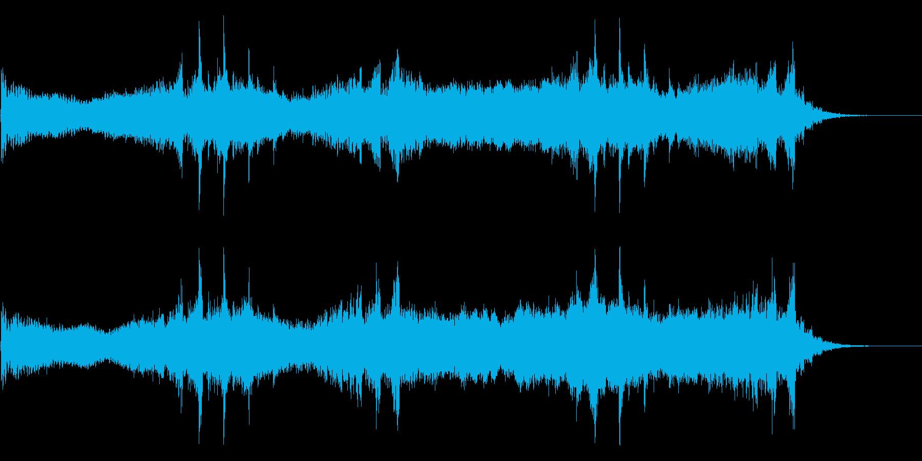 Dark_ホラーで怪しく神秘的-07の再生済みの波形