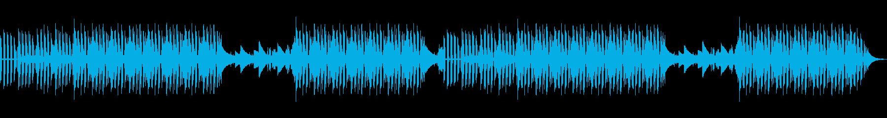 エレピのポップな曲です。の再生済みの波形
