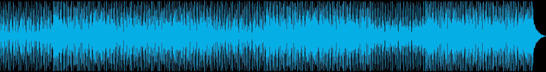 夏、トロピカル、EDM、エンディングの再生済みの波形