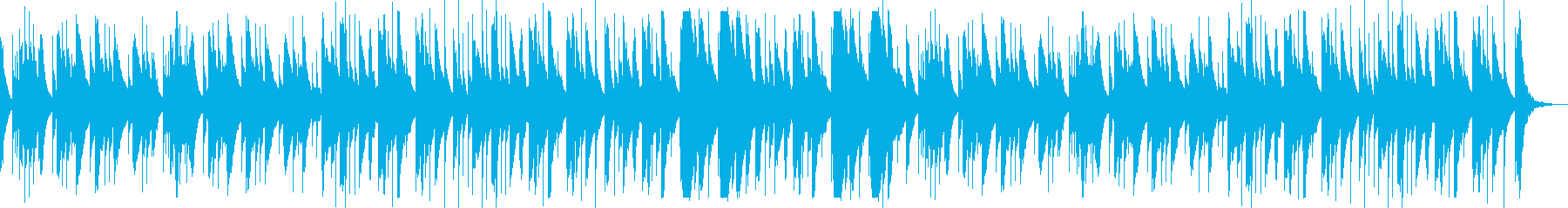 優しい旋律が印象的なオルゴールの再生済みの波形
