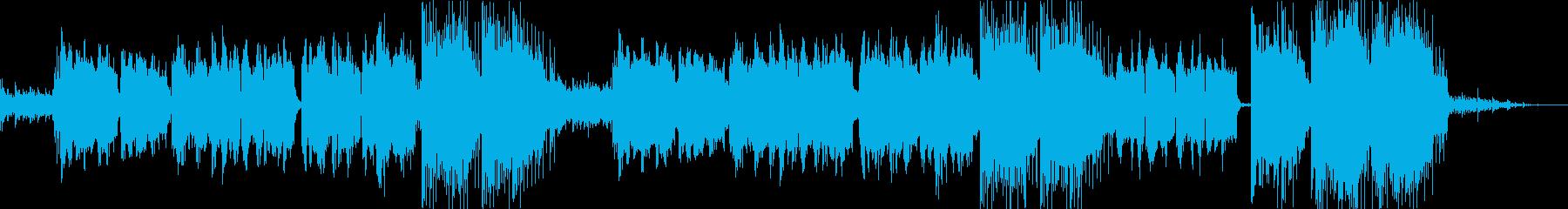 優しいフルートの旋律が印象的な春の音楽の再生済みの波形