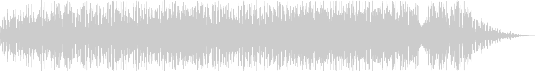 ほのぼのしたシンセ・打楽器サウンドの未再生の波形