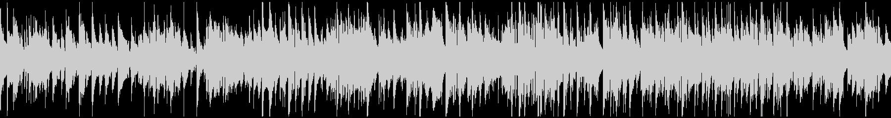 優しいジャズワルツ、サックス ※ループ版の未再生の波形
