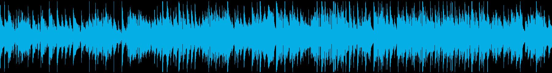 優しいジャズワルツ、サックス ※ループ版の再生済みの波形