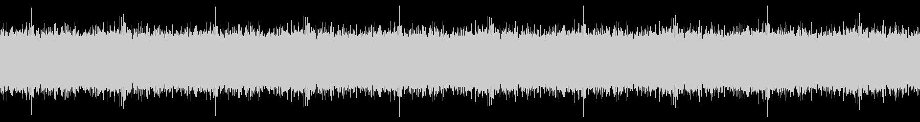 【録音】セミの鳴き声1分(ループ)の未再生の波形