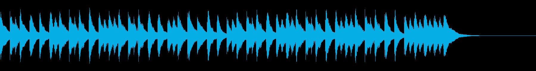 謎解き、シンキングタイムのジングルの再生済みの波形