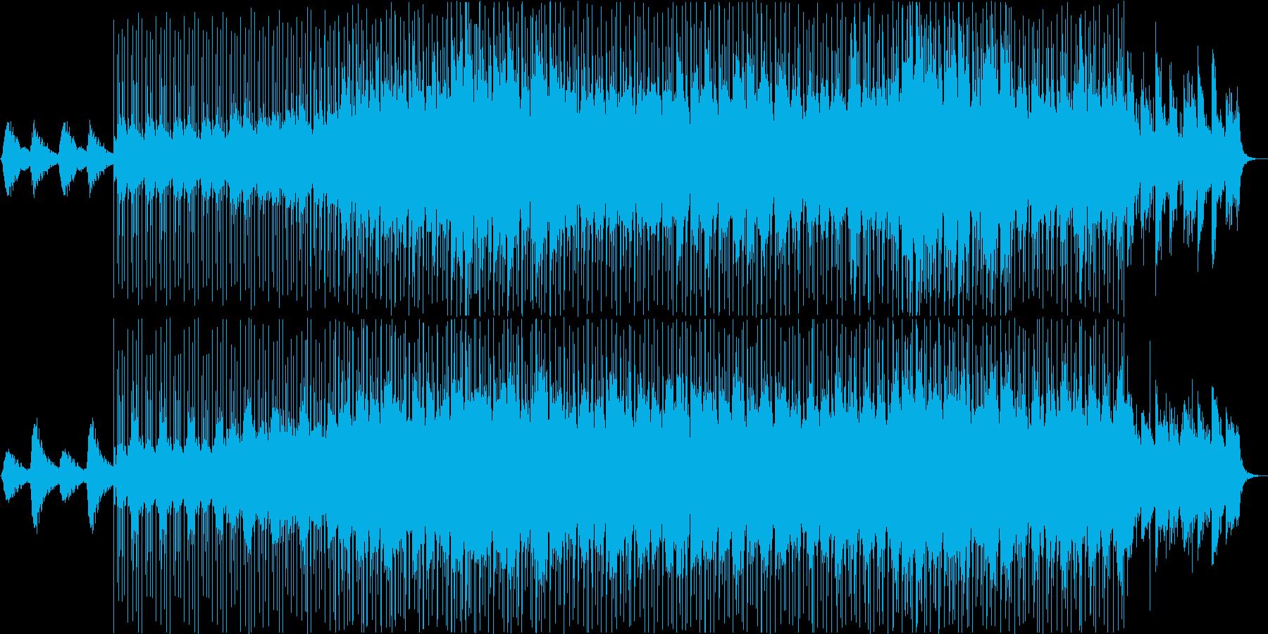 ダークなアンビエントの再生済みの波形
