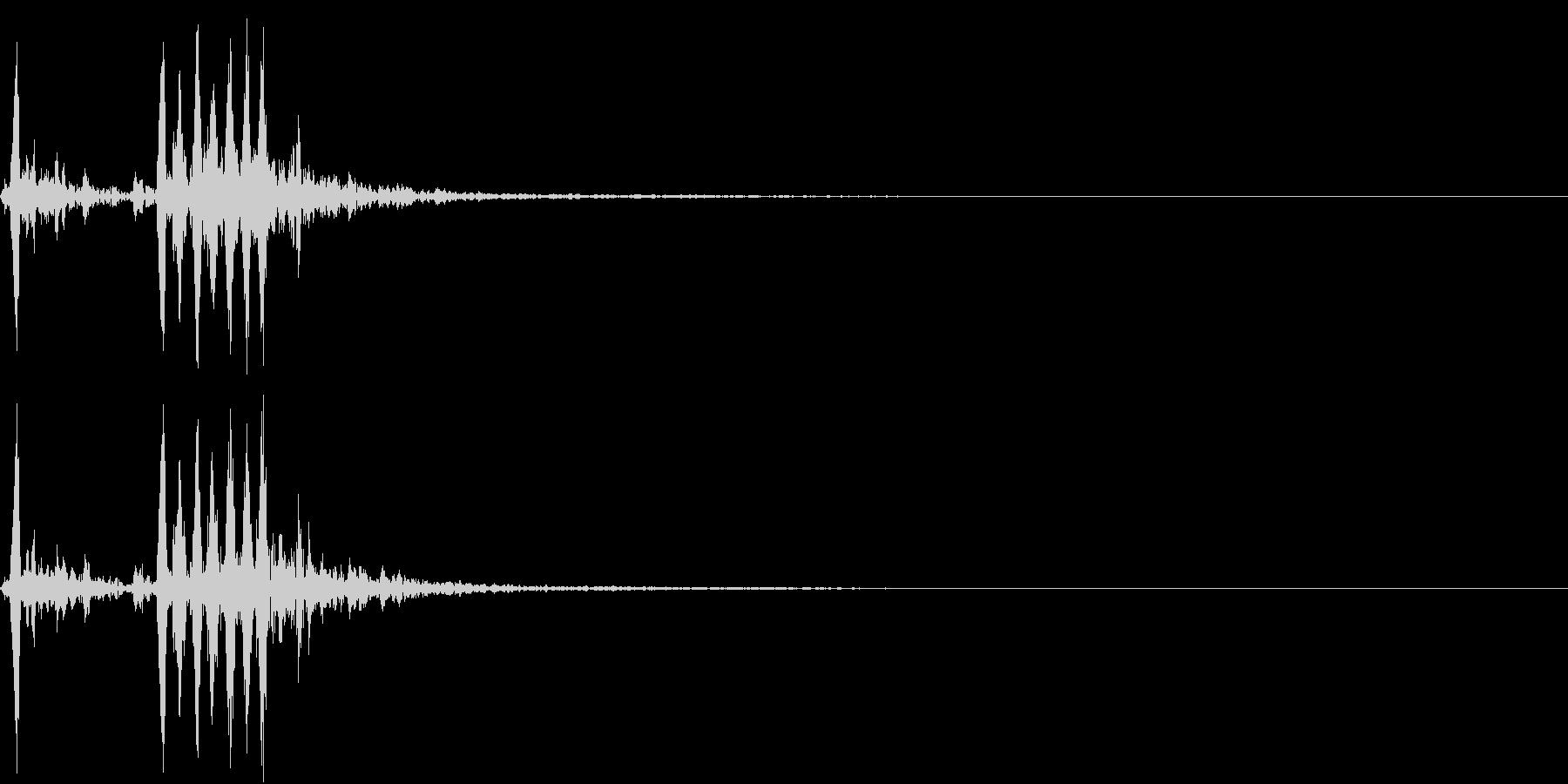 【生録音】フラミンゴの鳴き声 4の未再生の波形