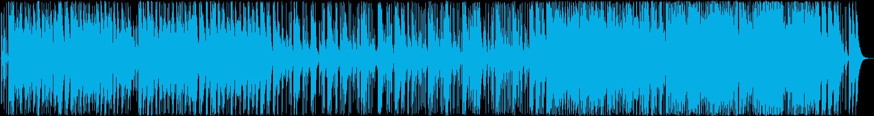 展開のある和太鼓曲(ループ可)の再生済みの波形