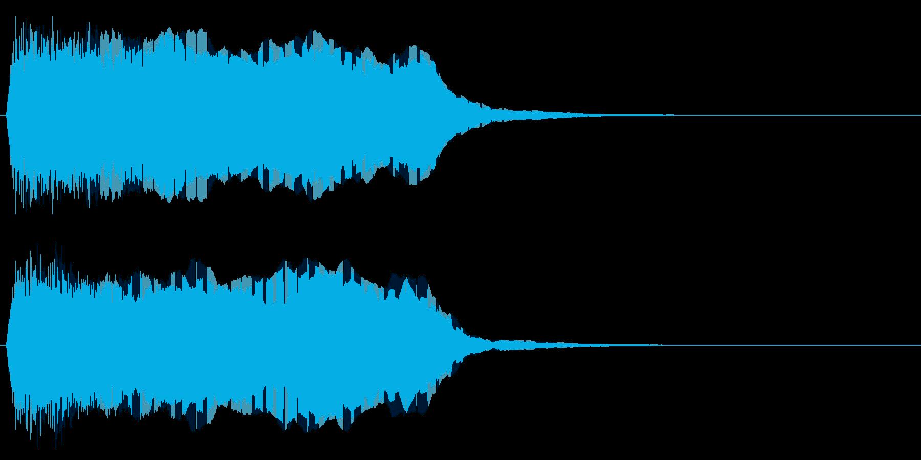 警告音/注意/工場/ブザー/作動の再生済みの波形