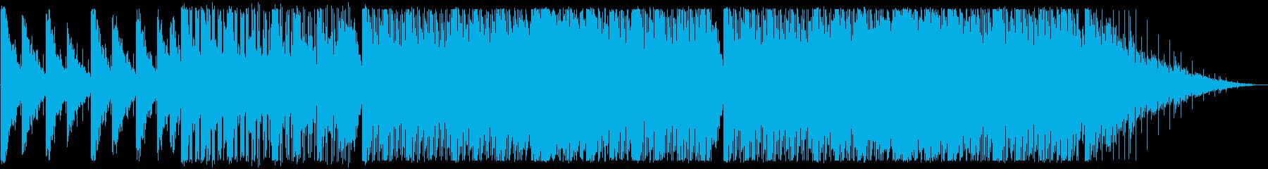 涼しい/ディープハウス_No408_3の再生済みの波形
