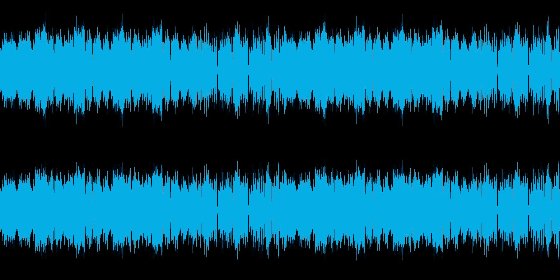 神秘的なAadd9のアルペジオの再生済みの波形