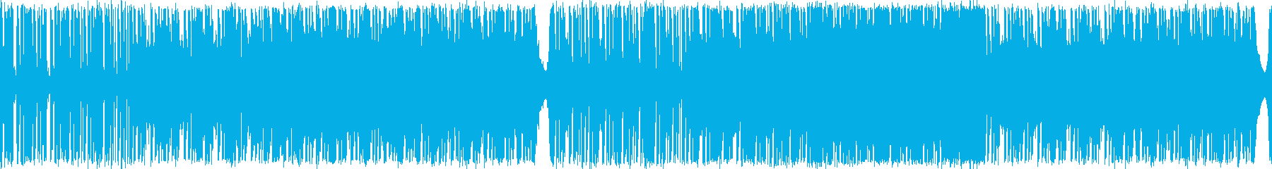 シンセメインのBGMの再生済みの波形